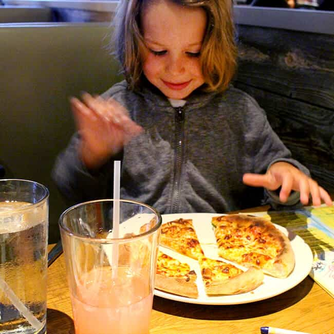 California Pizza Kitchen Kids Meal