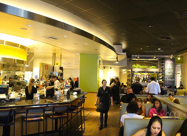 California Pizza Kitchen Restaurant