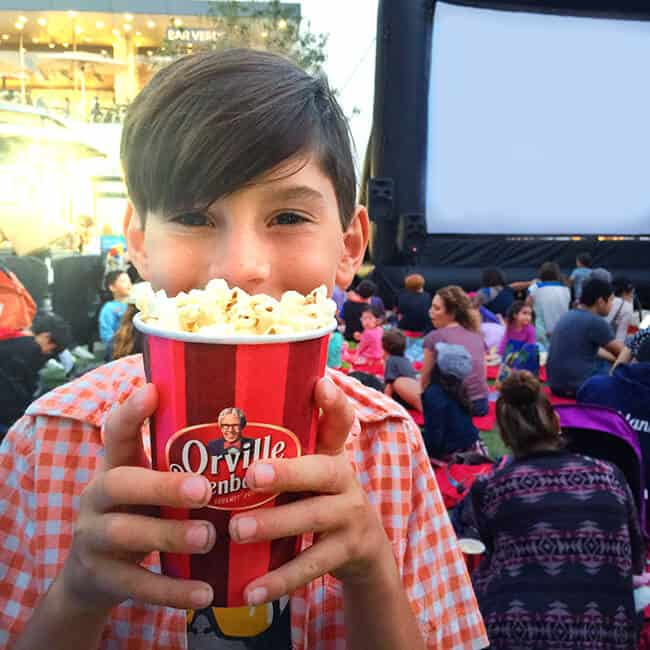 Family Movie Night at the Grove