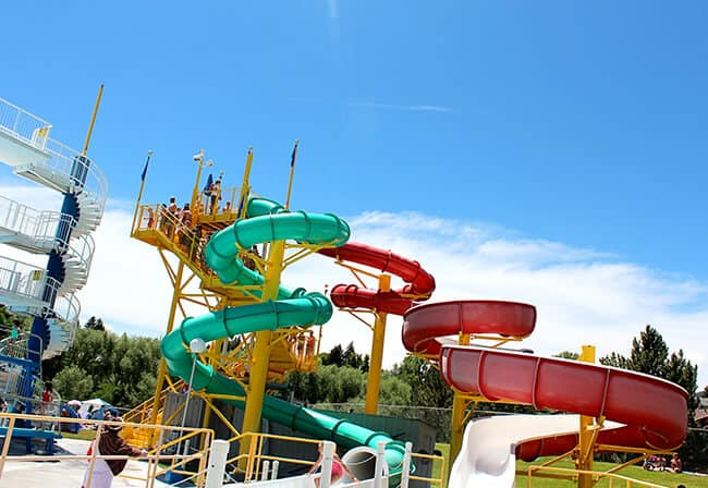 Idaho Heated Water Slides