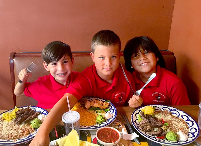 Kids Eat Free at El Torito