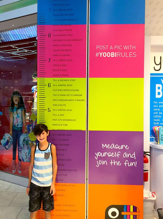 Yoobi Store for Kids in California