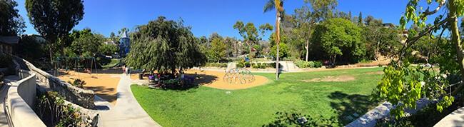 Bluebird Park Panorama Photo