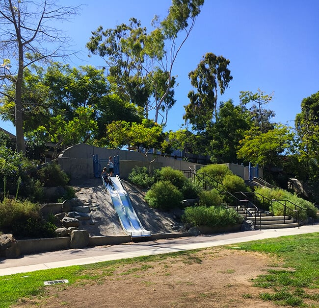 Bluebird Turtle Playground in Laguna Beach
