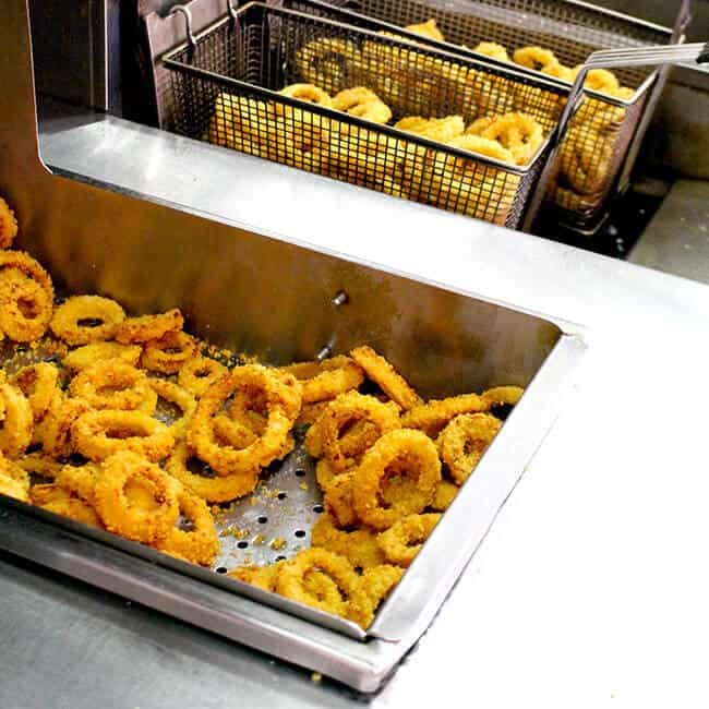 Johnny Rockets Onion Rings