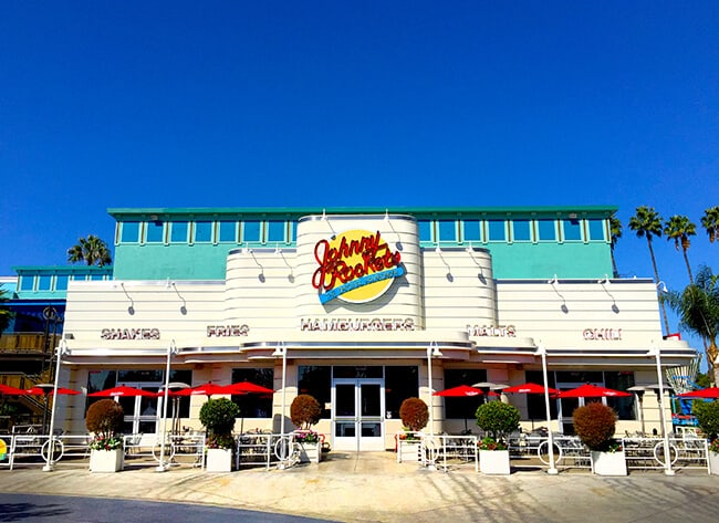 Johnny Rockets at Knott's Berry Farm