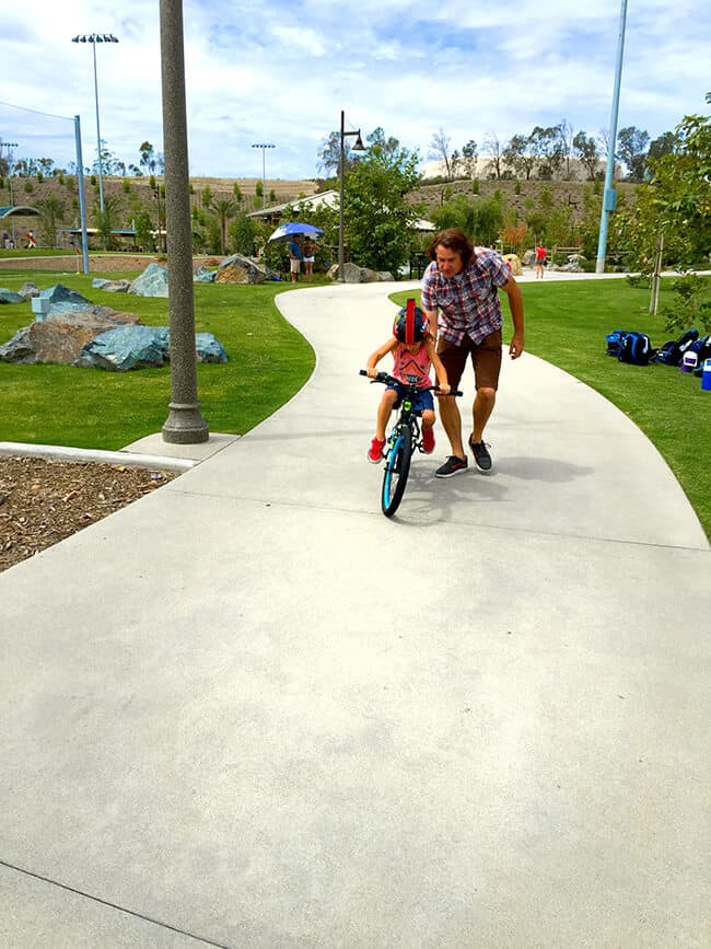 Learning to Ride a Gaurdian Bike