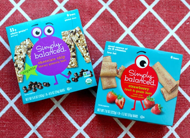 Simply Balanced Organic Snacks