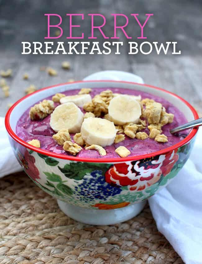 Best Breakfast Berry Bowl Recipe