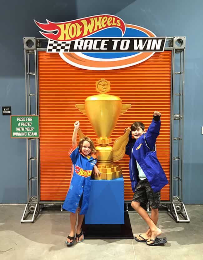 Hot Wheels Fun at Discovery Science Center