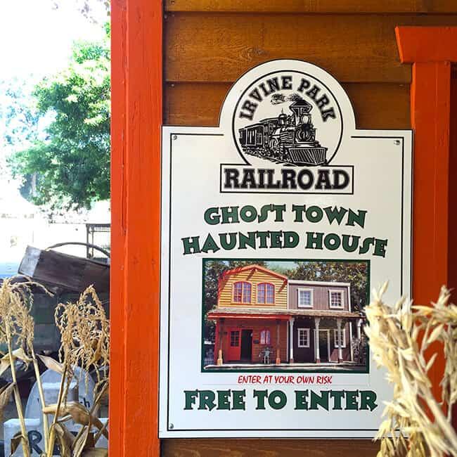 Irvine Park Railroad Pumpkin Patch Haunted House