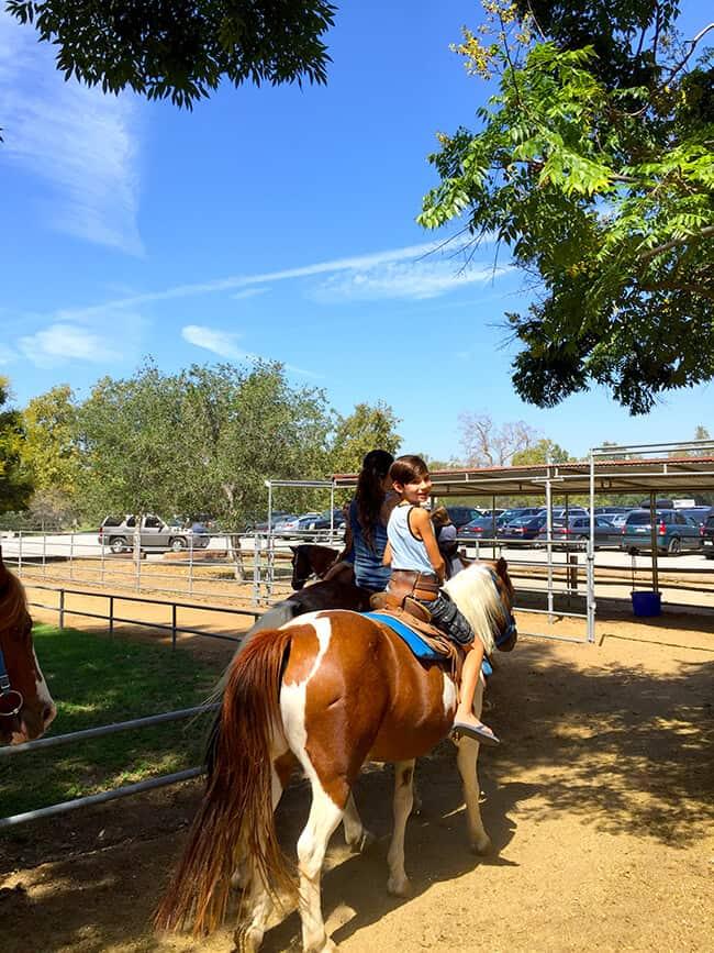 Irvine Park Railroad Pony Rides