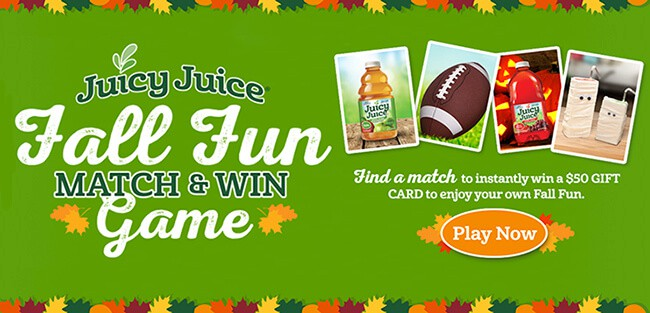 Juicy Juice Contest Giveaway