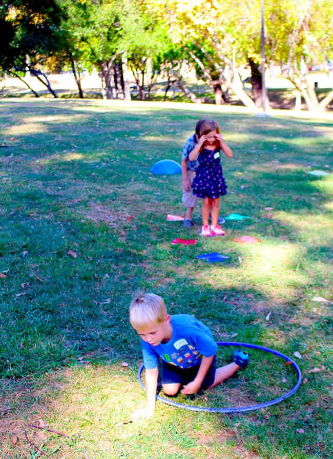 Kids Playing in the Outdoors