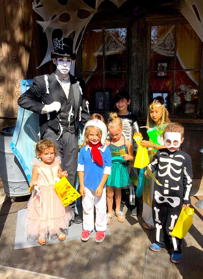 Knott's Spooky Farm Ghost Town Monsters