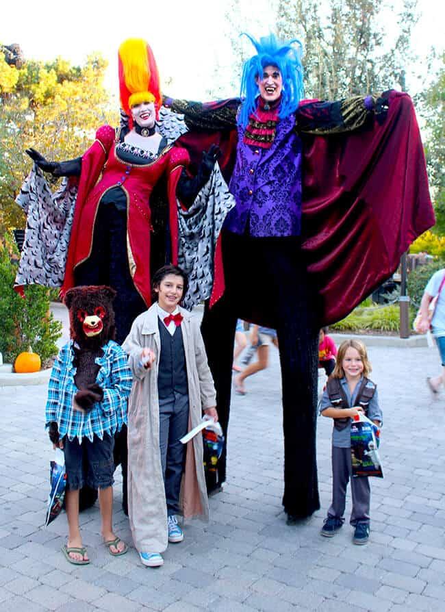 Legoland Halloween Characters