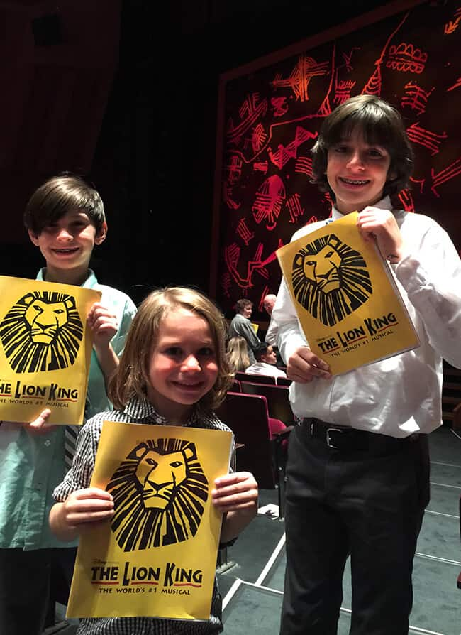 Lion King at the Segerstrom