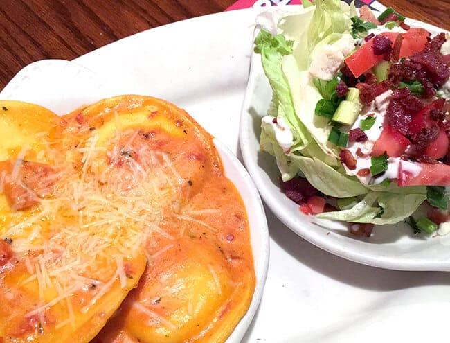 Marie Callendars Dinner