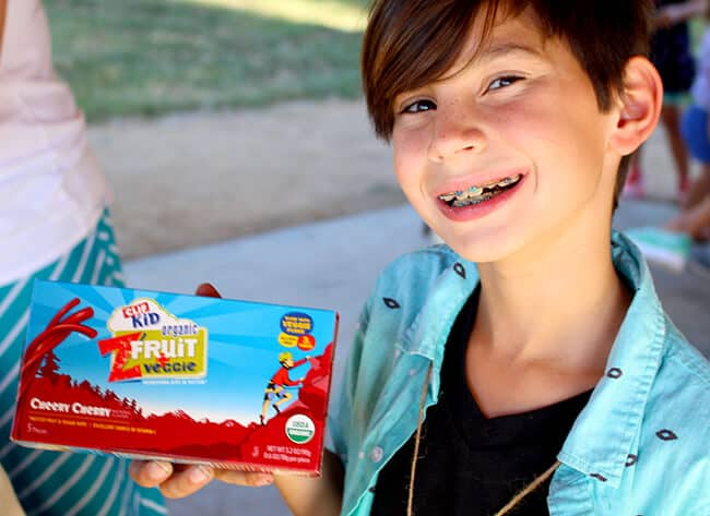 Organic Clif Kid Fruit Snacks
