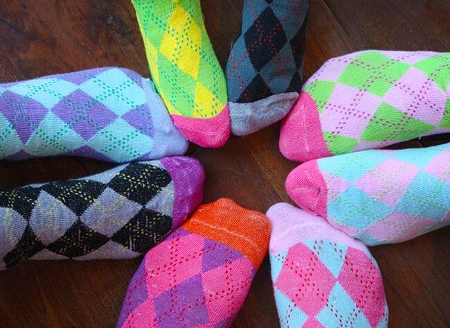 Plaid Socks