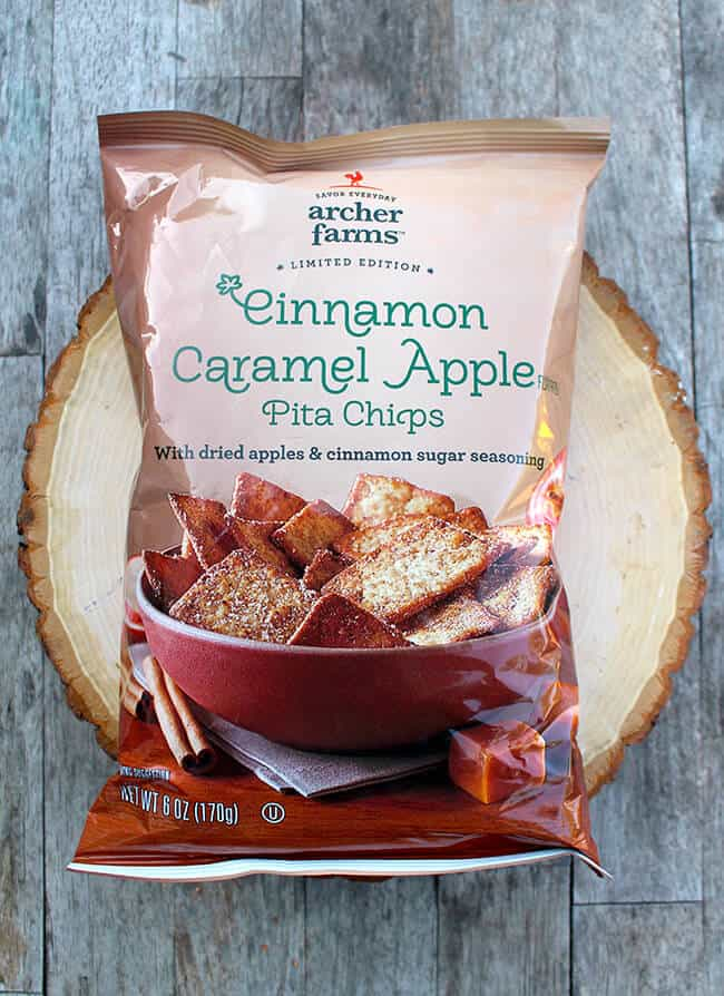 Target Cinnamon Apple Pita Chips