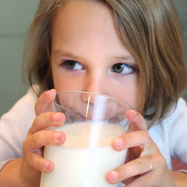The Benefits of Drinking Milk