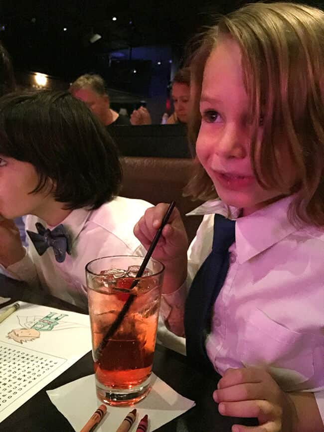 Vann's First Shirley Temple