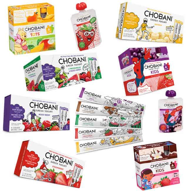 Chobani Kids Yogurt