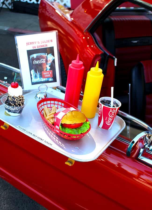 Cruisin Reunion Car Show Diner