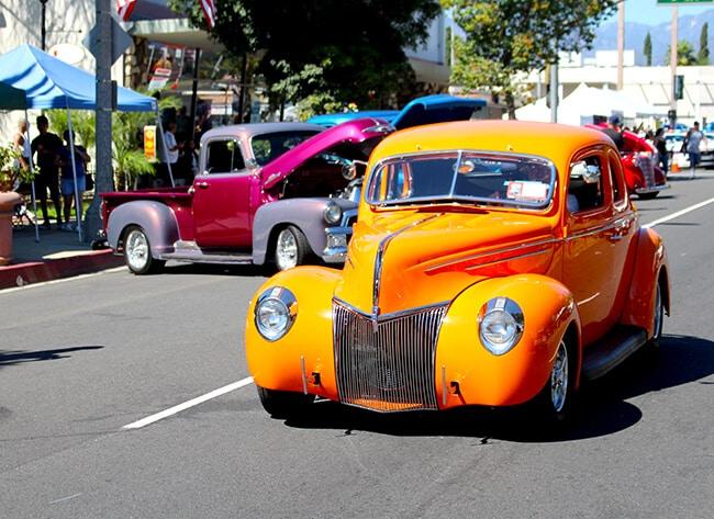 Cruisin Reunion Car Show in Ontario, CA