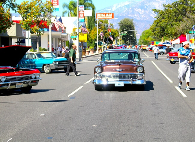 Route Cruisin Reunion With FiOS SoCal Popsicle Blog - Route 66 car show