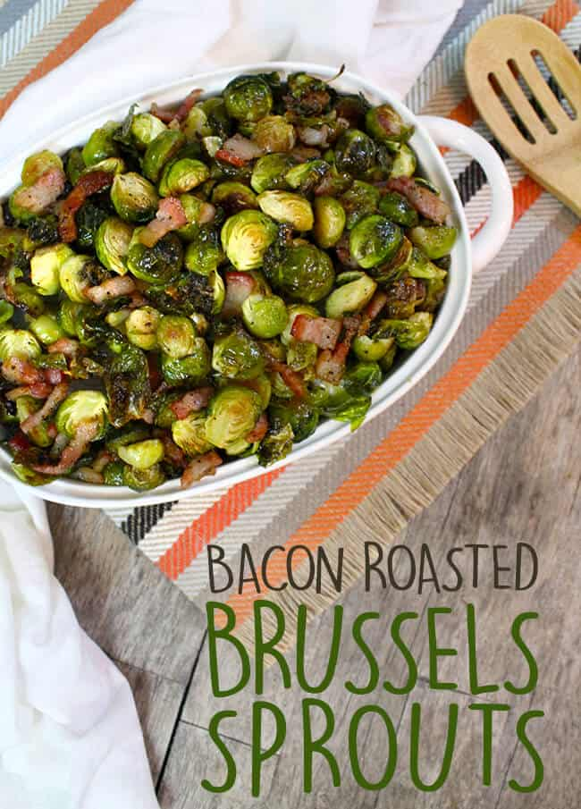 Easy Bacon Roasted Brussels Sprouts Recipe - Popsicle Blog