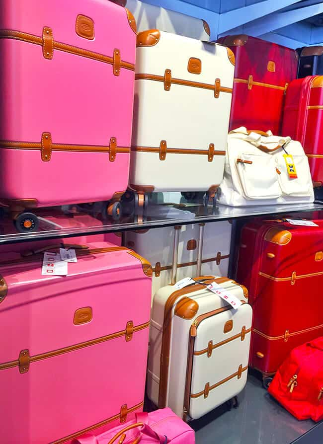 Luggage Store at the Outlets of San Clemente