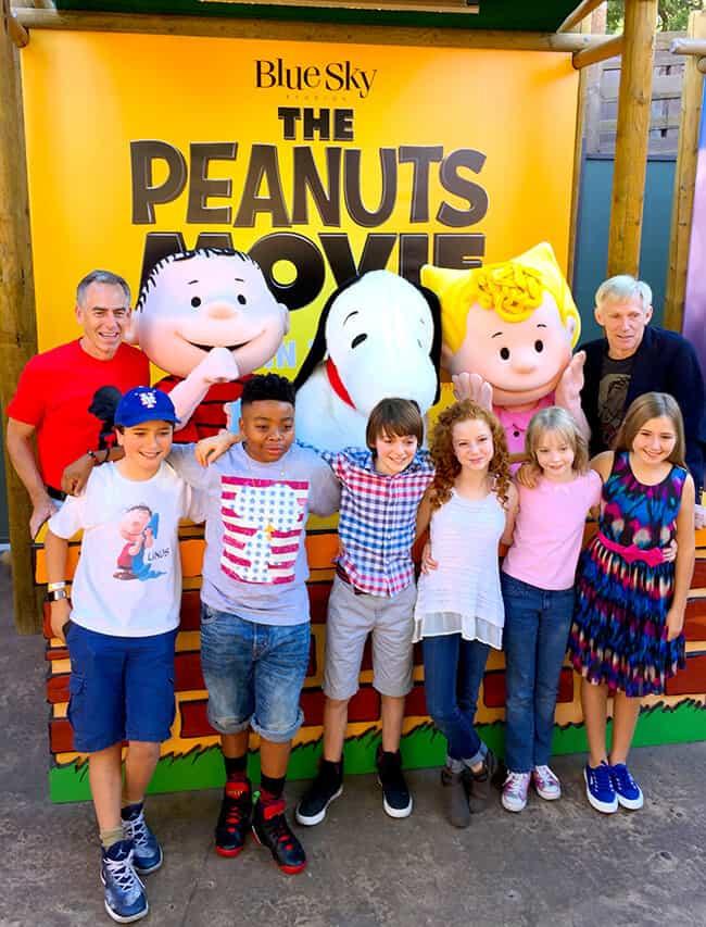 Meet the Stars of the Peanuts Movie