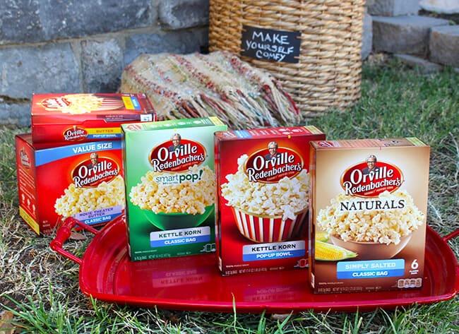 Orville Redenbachers Popcorn Flavors