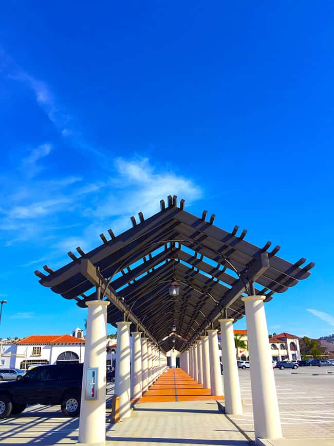 Outlets at San Clemente Architecture