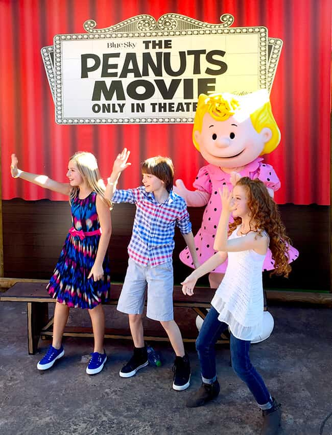 Peanuts Movie Stars do the Whip and Nae Nae