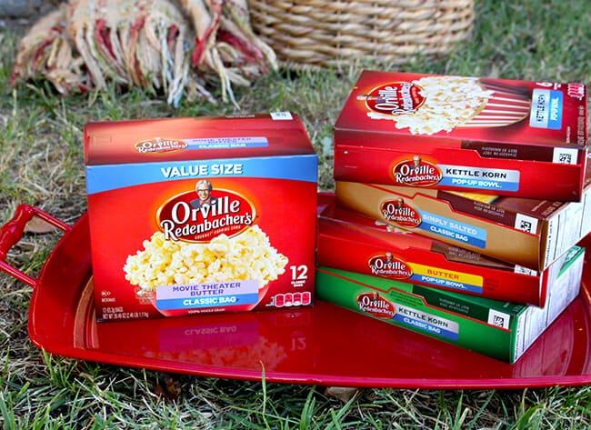 Popcorn Party Ideas