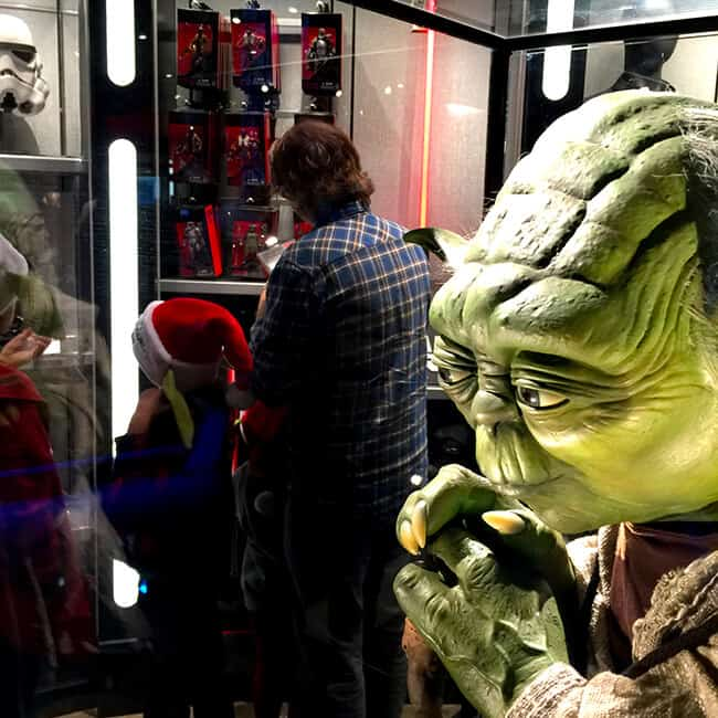 Yoda at Disneyland