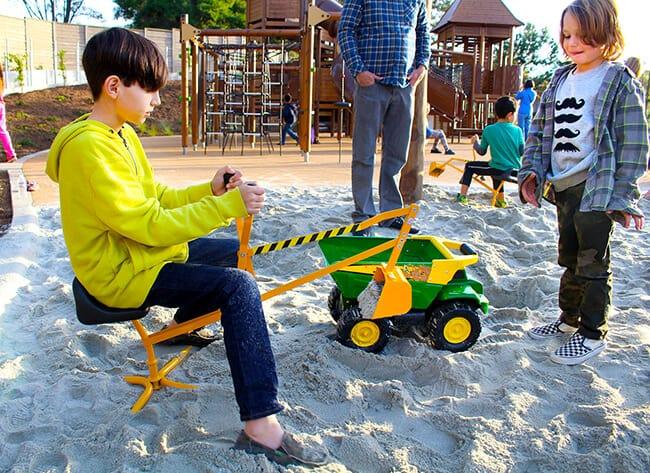 Adventure Playground Irvine Sandbox