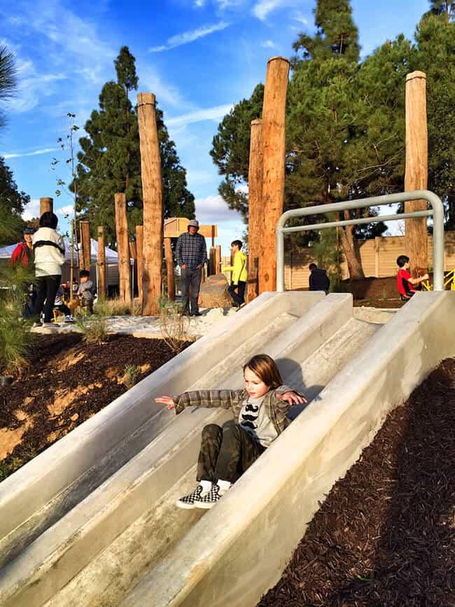 Adventure Playground Irvine Slides