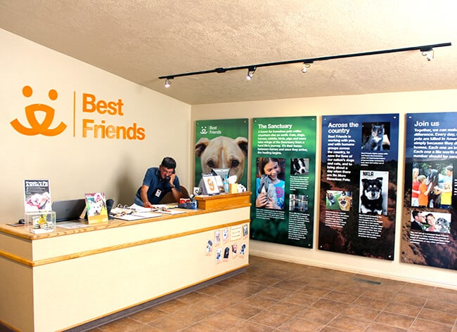 Best Friends Animal Sanctuary Lobby