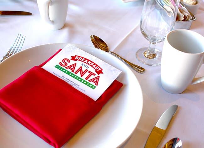 Catal Breakfast with Santa