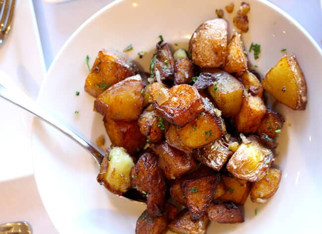 Catal Restaurant Roasted Potatoes