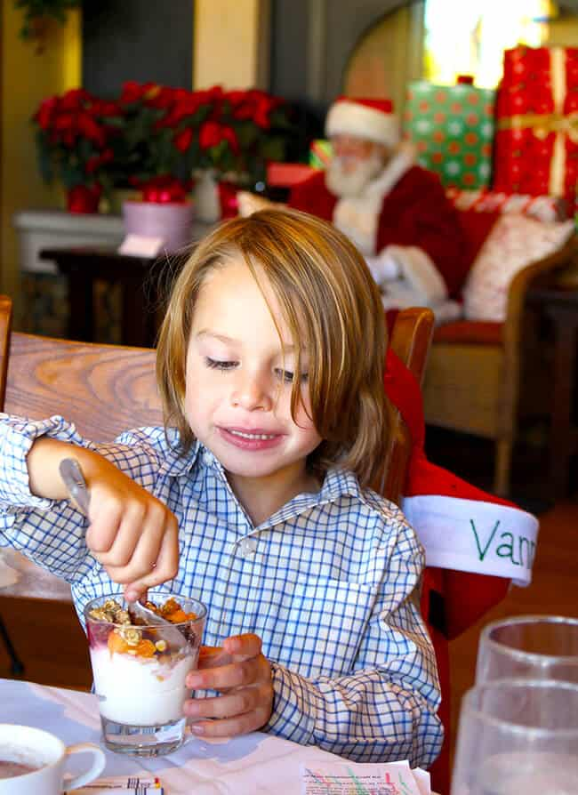 Family Breakfast with Santa at Down Town Disney