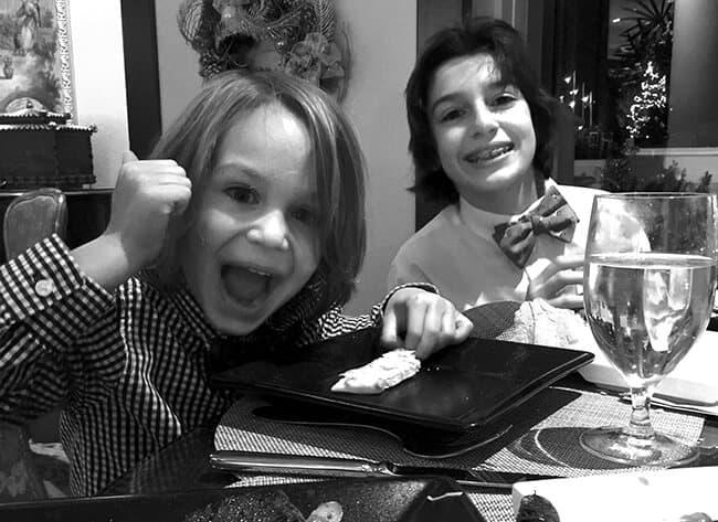 Family Dinner at the Four Seasons