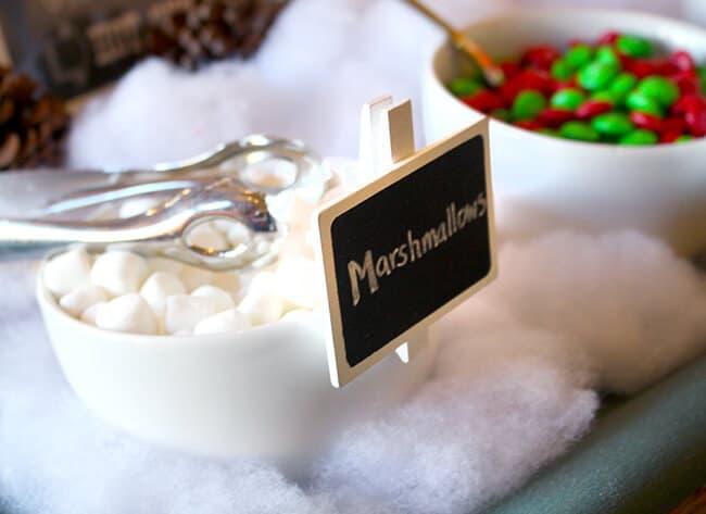 Hot Chocolate Bar at Catal Restaurant
