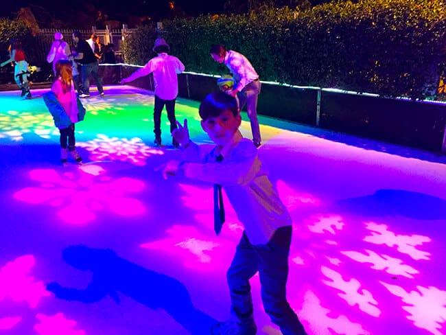 Ice Skating at the Four Seasons Westlake Village