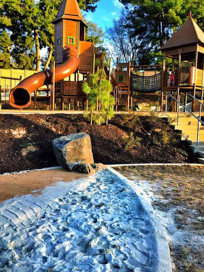 Irvine Adventure Playground Forts