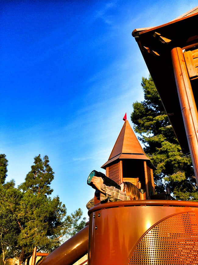 Irvine Adventure Playground Telescope
